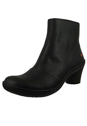 Art Leather Ankle Boots Ankle Boot Alfma Black Black 1442