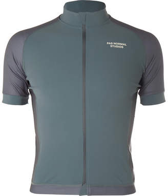 Pas Normal Studios Essential Perforated Zip-Up Cycling Jersey