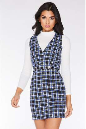 hot products deft design good looking Check Pinafore Dress - ShopStyle UK