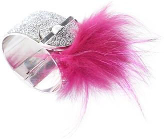 Fendi Silver Steel Bracelets