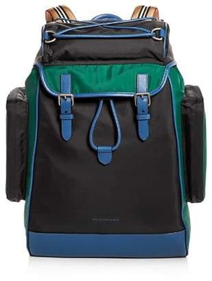 Burberry Color-Block Backpack