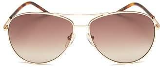 Marc Jacobs Aviator Sunglasses, 59mm