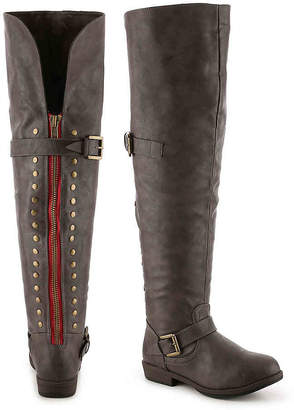 29c6f0a3df5 Journee Collection Kane Wide Calf Over The Knee Boot - Women s