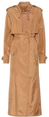 Bottega Veneta Silk-blend coat