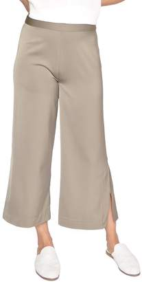 Just Female Satin Cropped Pants