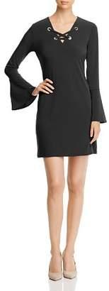 MICHAEL Michael Kors Lace-Up Grommet Dress
