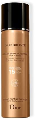 Christian Dior Beautifying Protective Oil in Mist SPF 15