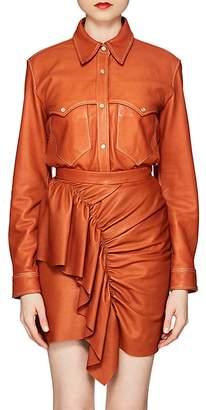 Isabel Marant Women's Nile Leather Blouse