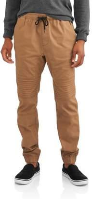 George Men's Canvas Moto Jogger Pants