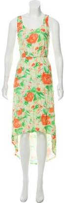 Alice + Olivia Sleeveless Maxi Dress Green Sleeveless Maxi Dress
