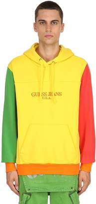 GUESS Color Block Sweatshirt Hoodie