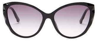 Swarovski Women's Fantastic Crystal Accented Cat Eye Sunglasses $180 thestylecure.com