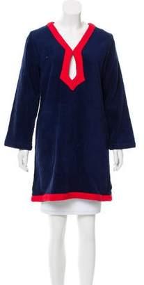 Lisa Marie Fernandez Terry Cloth Long Sleeve Tunic