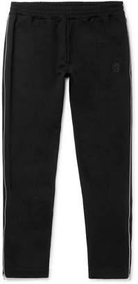 Alexander McQueen Zip-Trimmed Loopback Cotton-Jersey Sweatpants