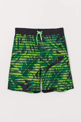 H&M Printed swim shorts