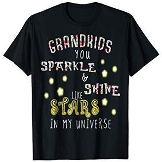 Grandkids Sparkle And Shine Like Stars Tshirt