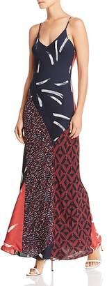 Joie Braewin Silk Maxi Dress