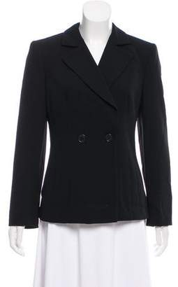 Giorgio Armani Structured Virgin Wool Blazer