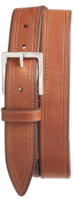 Men's Martin Dingman Walton Leather Belt $85 thestylecure.com
