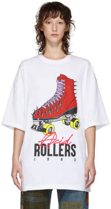 Undercover White Acid Rollers T-Shirt