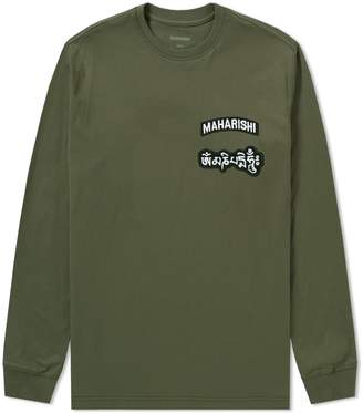 MHI Long Sleeve Ohm Patch Logo Tee