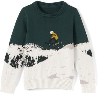 La Redoute Collections Christmas Ski Jumper, 3-12 Years