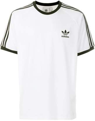 adidas signature stripe T-shirt