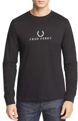 Fred Perry Embroidered Laurel Wreath Logo Tee