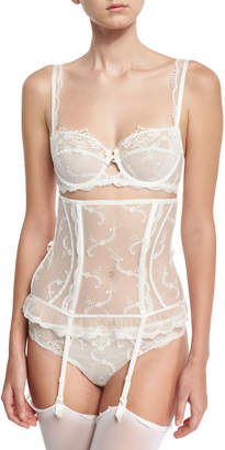 Lise Charmel Orchid Paradis Lace Thong, Ivory