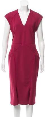 Zac Posen Midi Bodycon Dress