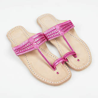 NEW Handmade leather sandals in rani pink Women's by Banjarans Leather Sandals