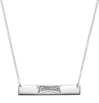 Kohl's Philadelphia Eagles Sterling Silver Bar Link Necklace