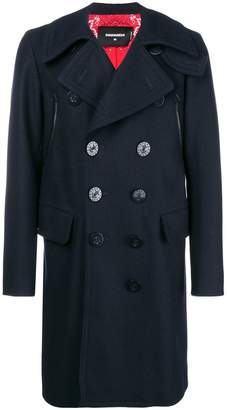 DSQUARED2 classic double-breasted coat