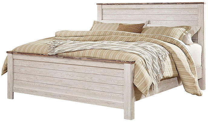 SIGNATURE DESIGN BY ASHLEY Signature Design by Ashley Smithfield 4-Pc Bedroom Set