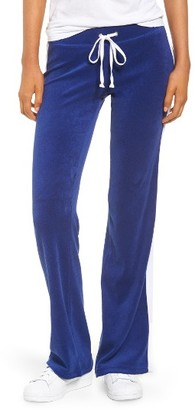Women's Juicy Couture Venice Beach Del Ray Microterry Pants $88 thestylecure.com