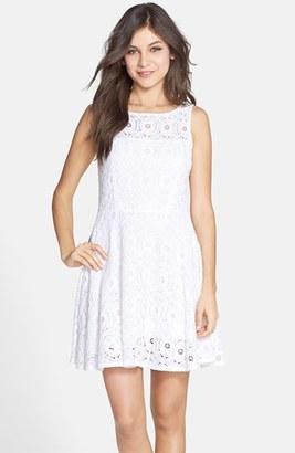 Women's Bb Dakota 'Renley' Lace Fit & Flare Dress $88 thestylecure.com