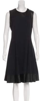 L'Agence A-Line Midi Dress w/ Tags