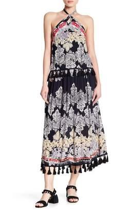 Raga Vanessa Ruffle Halter Dress