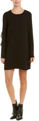 BCBGeneration Ruffled Shift Dress