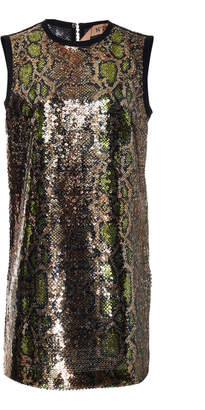 N°21 N 21 Alissa Sequin Mini Dress