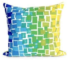 Liora Manné Visions II Ombre Tile Indoor and Outdoor Square Pillow