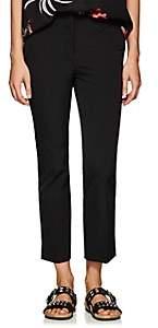 Prada Women's Stretch-Twill Crop Pants - Black