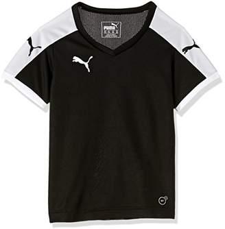 Puma Children's Short-Sleeve Shirt Dip - Black -5-6 Years