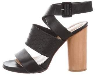 Robert Clergerie Clergerie Paris Multistrap Ankle Strap Sandals