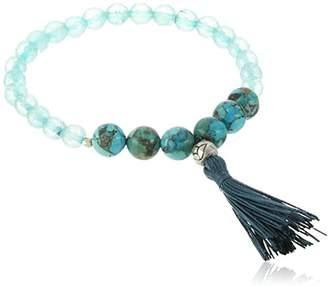 Satya Jewelry Mala Bracelets Rutilated Quartz Charm Bracelet