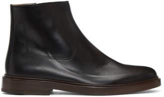 A.P.C. Black Leonard Boots