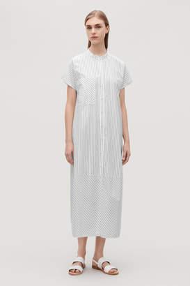 Cos LONG STRIPED SHIRT DRESS