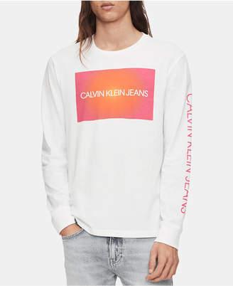 Calvin Klein Jeans Men Long-Sleeve Logo T-Shirt