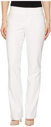 Liverpool Graham Bootcut Trousers in Bright White Women's Casual Pants