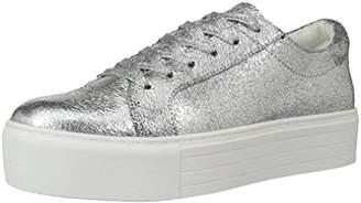 Kenneth Cole New York Women's Abbey Platform LACE UP Sneaker Metallic-Techni-Cole